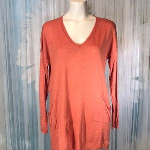Eileen Fisher knit long sleeve tunic top